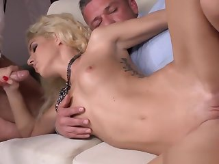 Anally Banged Pet Loves Threesome