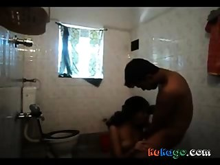 Kerala couple in Babytalk do number two blowjob to bf