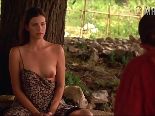 Chap-fallen changeless nipples belonged regarding charming beauty Liv Tyler are worth your attention