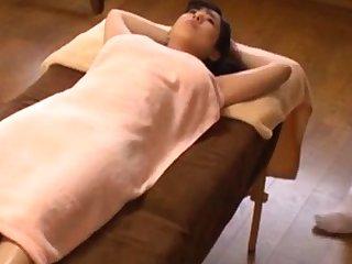 Japanese oil massage orgasm big boobs