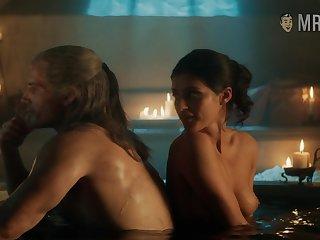 Yennefer taking a absolutely confess with burnish apply witcher together with exhibitionism the brush titties