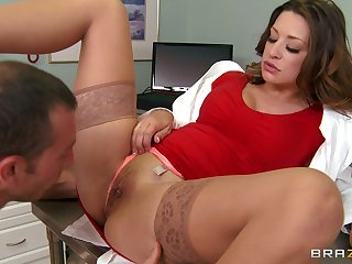 Hardcore fucking on the hospital bed with glamorous bastardize Carmen