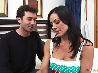Sharp practice wife Kendra Lust loves having sex with her neighbor