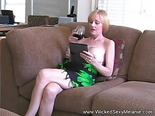 Hot BJ from the amazing Wicked Sexy Melanie she gets a nasty cumshot facial here addendum